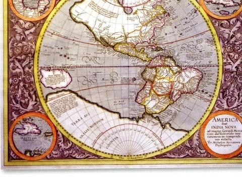 Maps: from 17th Century copperplate etchings to Michael Craig Martin digital prints